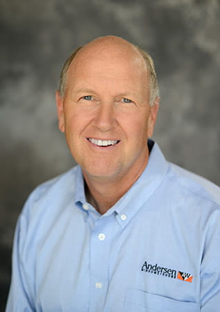 Jay Lund, Chairman and CEO of Andersen Corporation.