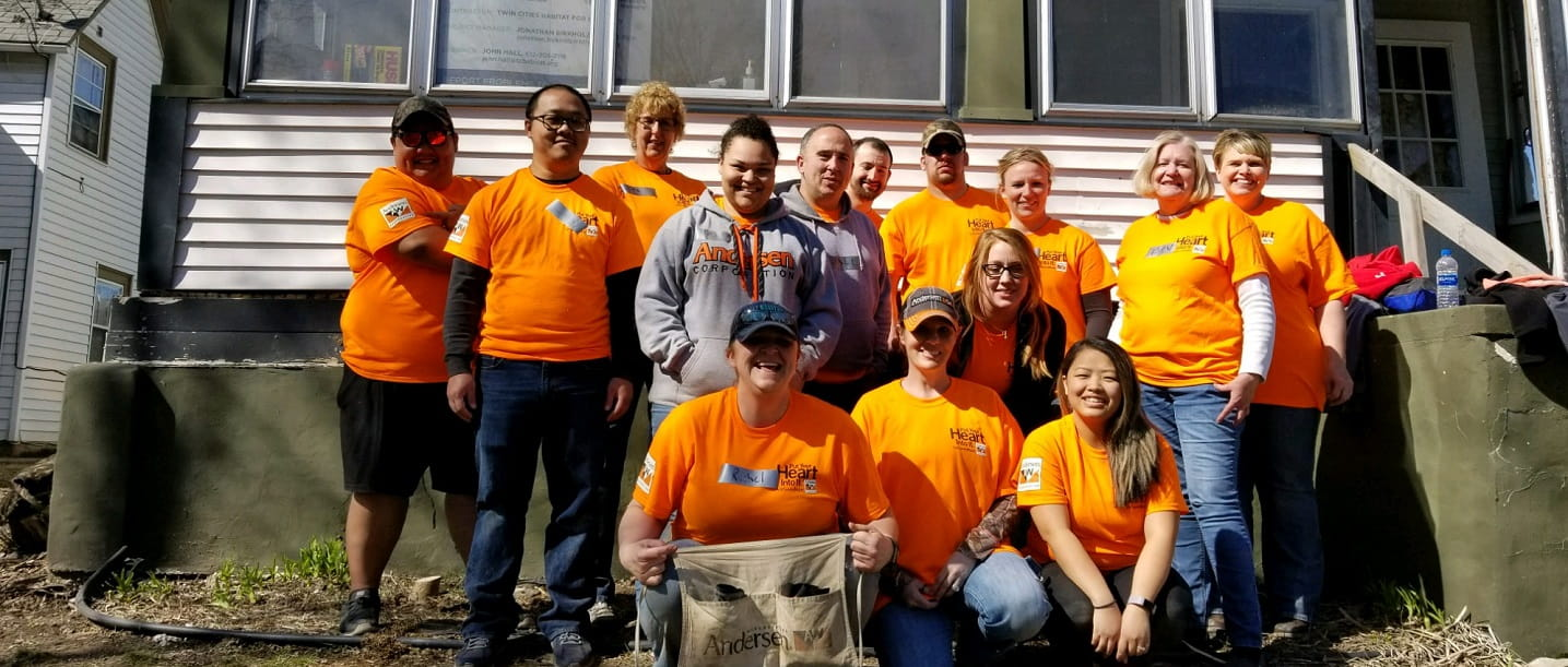 Andersen Employees Share Their Habitat for Humanity Volunteer Experience