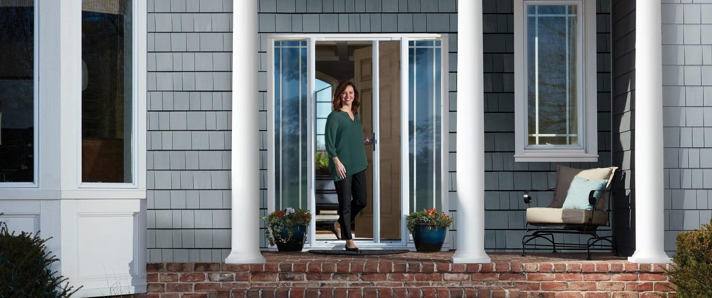 Andersen Introduces LuminAire™ Retractable Screen Door