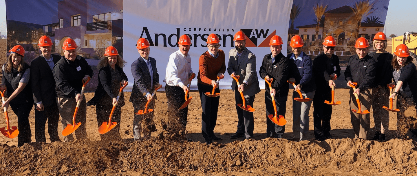 Andersen Corporation Begins Construction on New Manufacturing Campus in Goodyear, Arizona Commemorates Occasion with Ceremonial Groundbreaking
