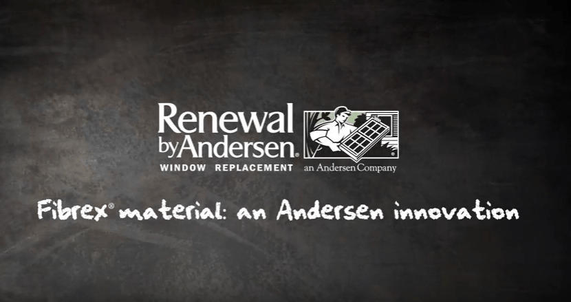 Renewal by Andersen® windows are made from Fibrex® material, an Andersen-exclusive composite that combines the strength and stability of wood with the low-maintenance features of vinyl.