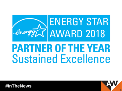 Andersen Corporation Continues Leadership in Energy Efficiency by Earning 2018 ENERGY STAR® Partner of the Year – Sustained Excellence Award