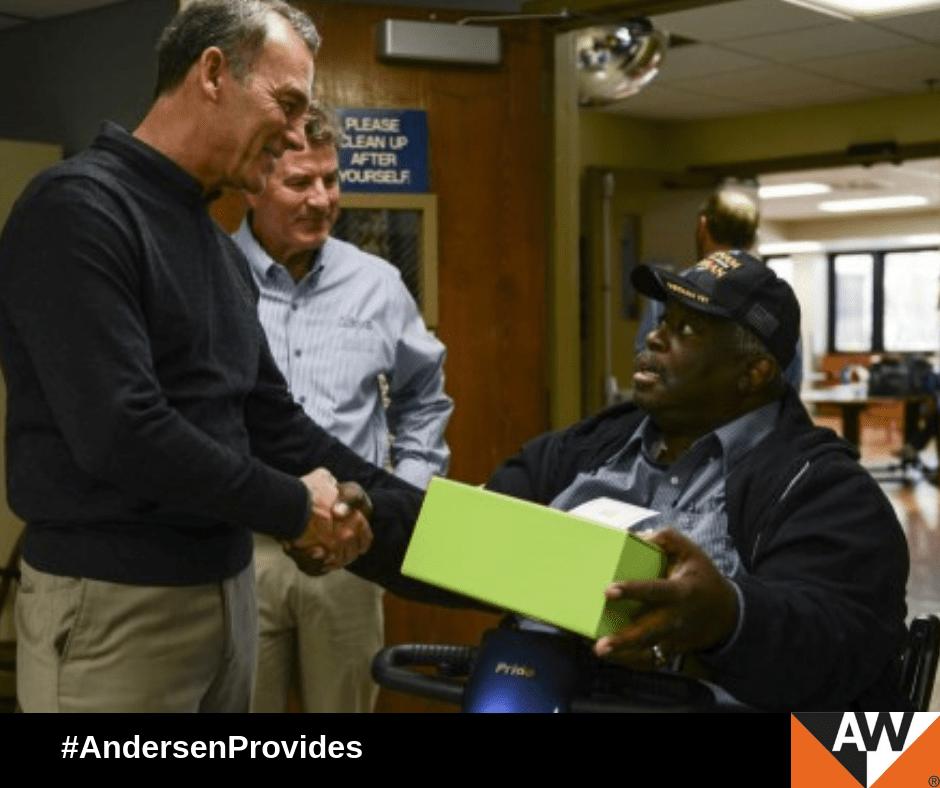 Andersen Corporation Delivers Cheer to Veterans With Cheeriodicals