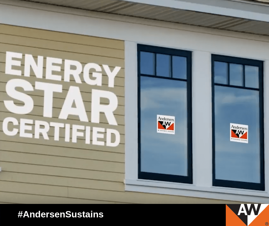 October 23, 2018, is ENERGY STAR Day. Andersen is proud to be a 2018 ENERGY STAR Partner of the Year Sustained Excellence Award winner.