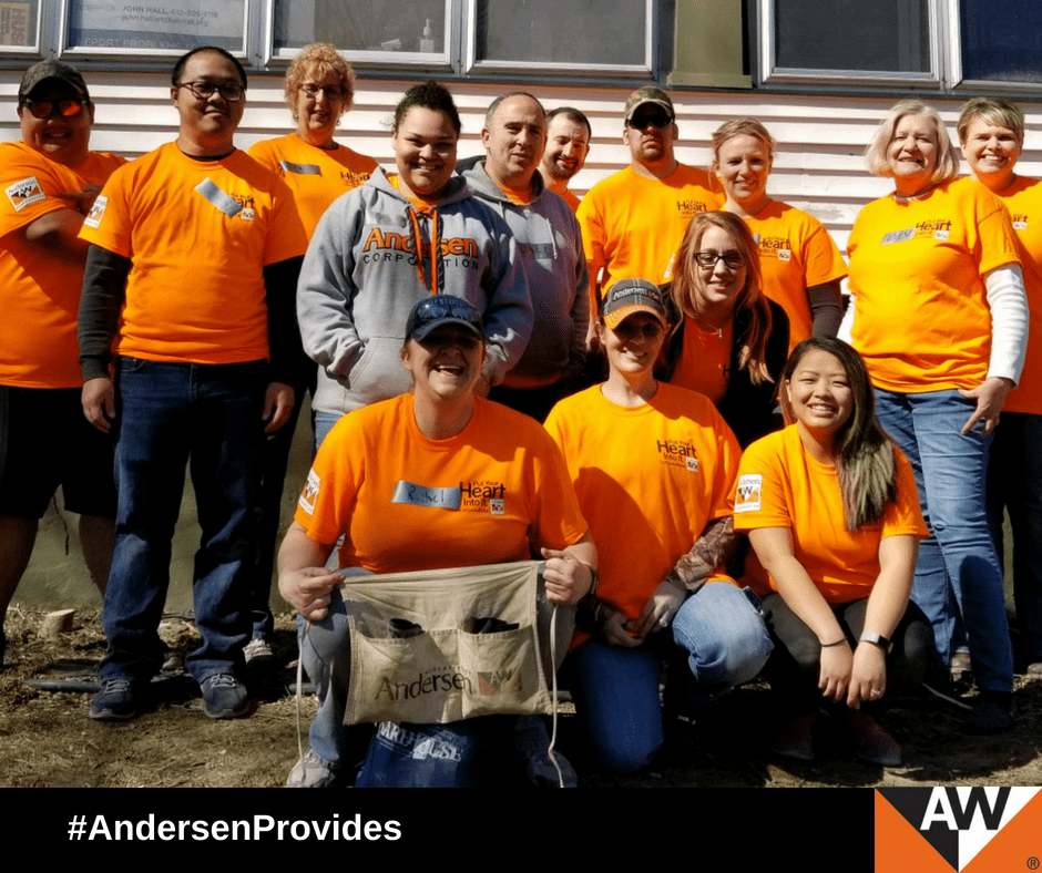 Andersen employees have been volunteering with nonprofit organizations such as Habitat for Humanity for more than 20 years