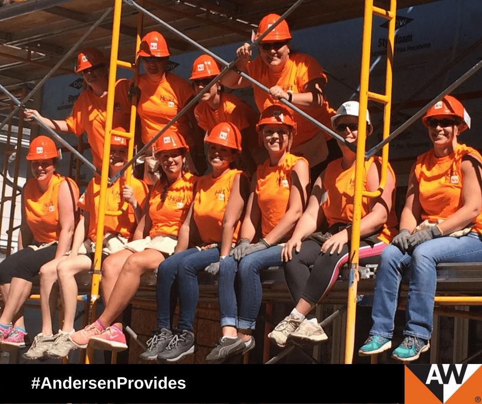 25 Andersen Employees Volunteer for Habitat for Humanity's Women Build 2018