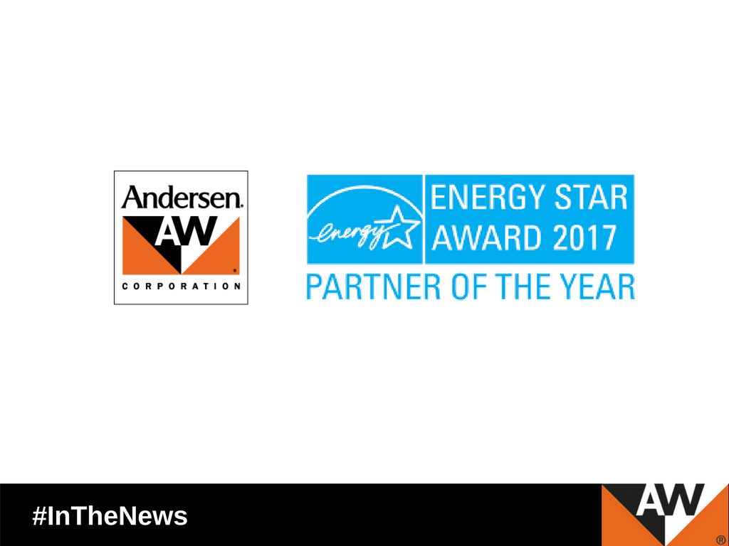 Andersen Corp. Earns 2017 ENERGY STAR® Partner of the Year Award