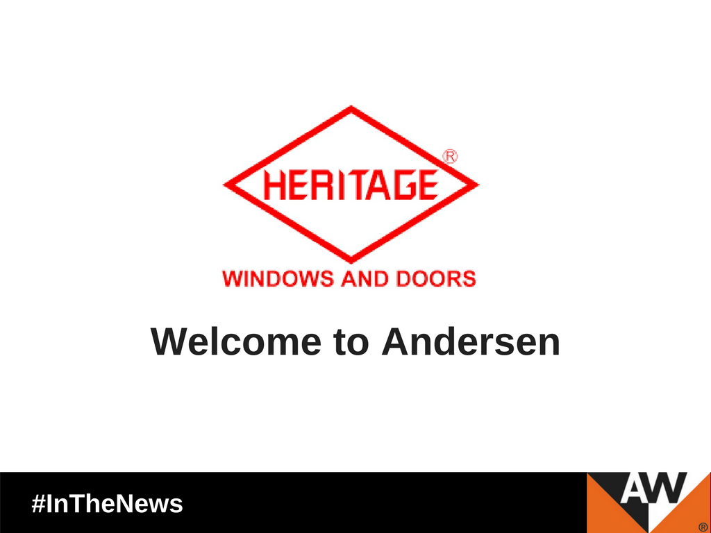 Andersen Corporation Acquires Heritage Windows.