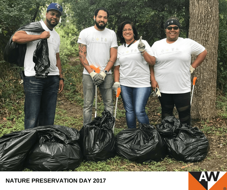 "Andersen kicks off ""Nature Preservation Day"" 2017"