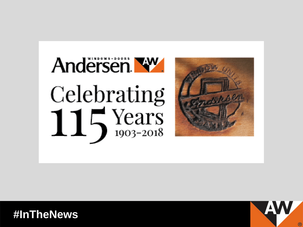 One hundred-fifteen years ago today, July 25, on a summer day in Madison, Wis., Wisconsin Secretary of State W.L. Houser certified that Original Articles of Organization for Andersen Lumber Company had been received and accepted.