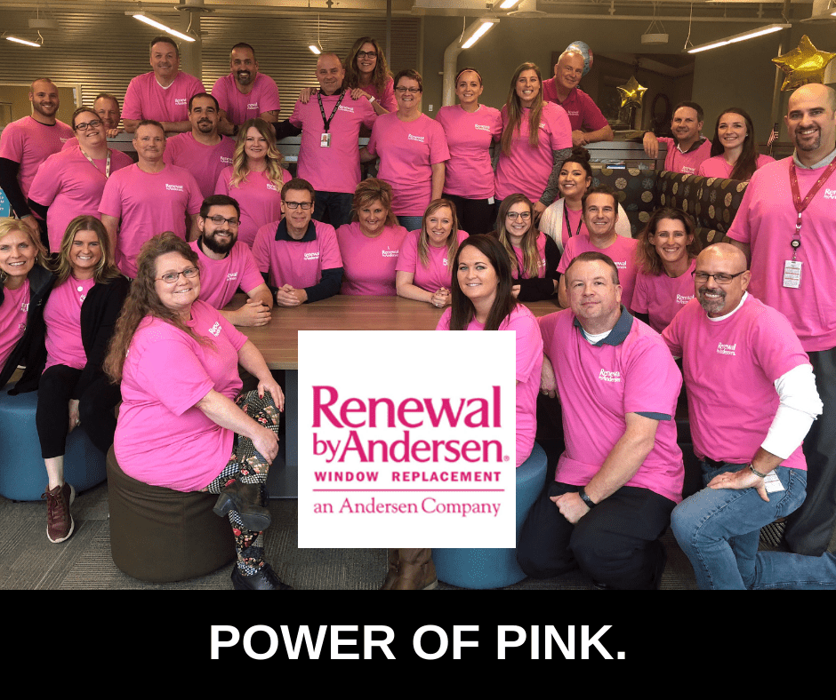 October is Breast Cancer Awareness Month, and this year Renewal by Andersen has committed in a big way in the fight against the insidious disease.