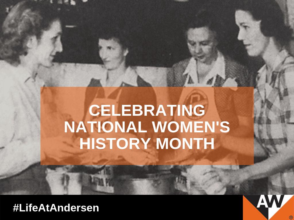 Andersen Celebrates National Women's History Month