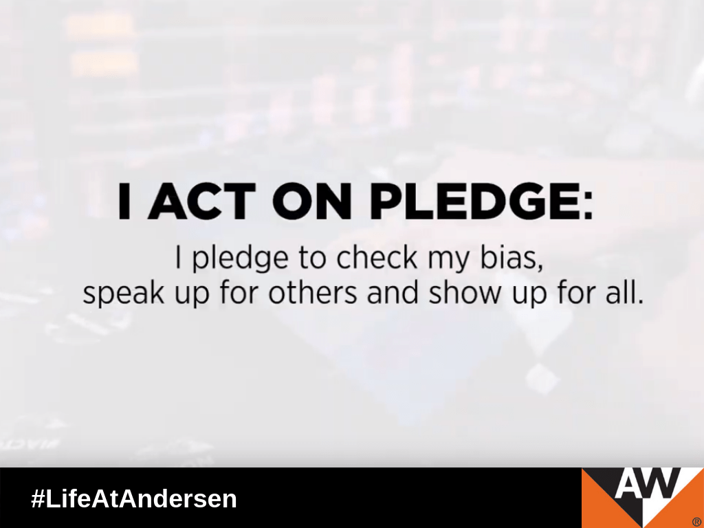 Andersen is a proud signatory of the CEO Action for Diversity & Inclusion initiative, the largest CEO-driven business commitment to advance diversity and inclusion within the workplace.