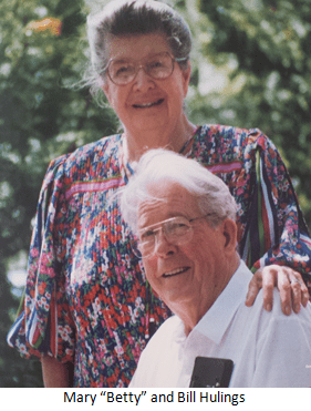 "Mary ""Betty"" and Bill Hulings"