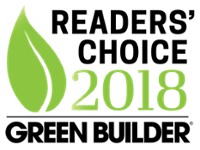 Andersen Wins Green Builder Media's 2018 Readers' Choice Award