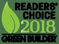 Andersen Wins Green Builder Media's 2018 Readers' Choice Award