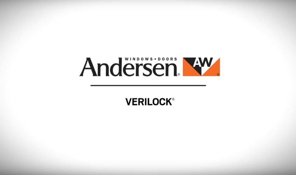 VeriLock Sensors on Andersen Windows & Patio Doors