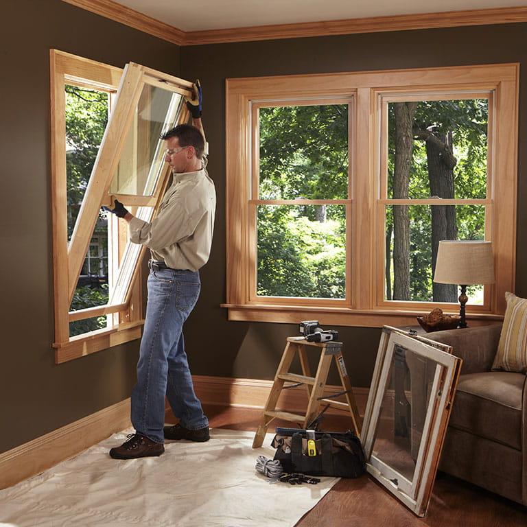 Standard window sizes guide.