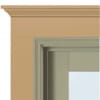 exterior trim profile