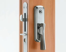 Reach out locking system