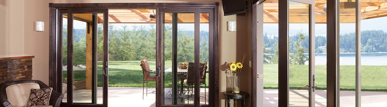sliding glass doors home depot andersen