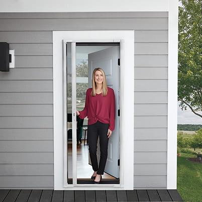 Andersen LuminAire Retractable Screen Door