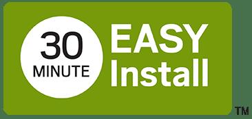 30 Minute installation
