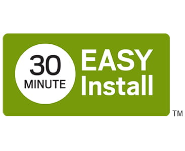 30 minute installation