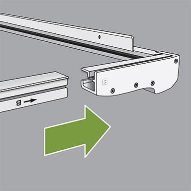 LuminAire Installation - Step 1