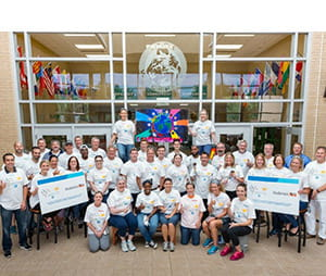 PPG and Andersen complete COLORFUL COMMUNITIES project at Park High School in Minnesota