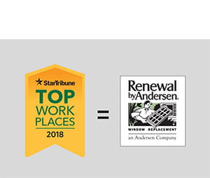 Star Tribune Names Renewal by Andersen a 2018 Top Workplace