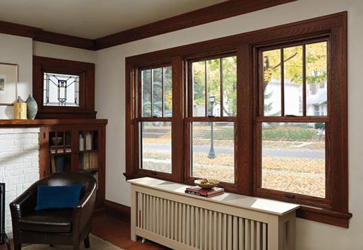 400 Series Woodwright double-hung