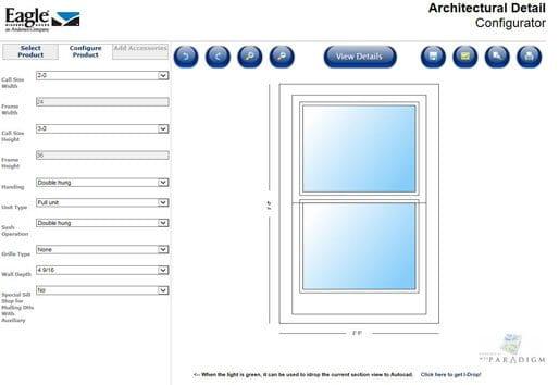 E-Series Detail Configurator Example