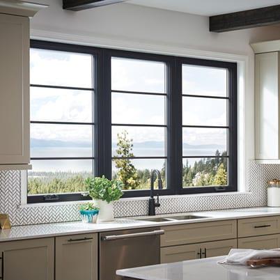 100 Series casement window