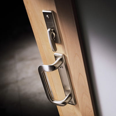 200 Series Narroline door hardware