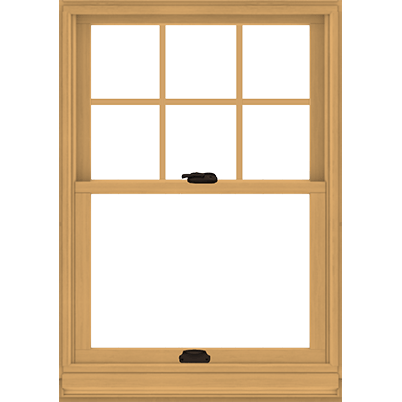 Double Hung Single Windows