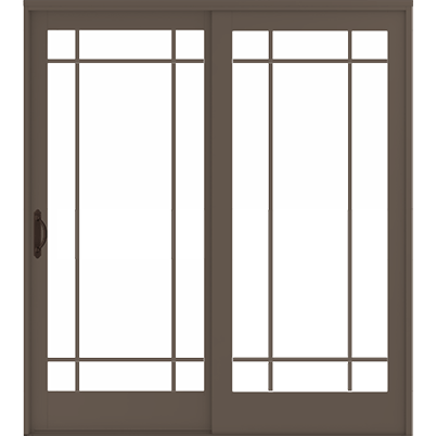 400 Series Frenchwood Gliding Door