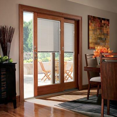 400 Series Frenchwood gliding doors & Sliding Glass Doors | Gliding Patio Doors | Andersen Windows
