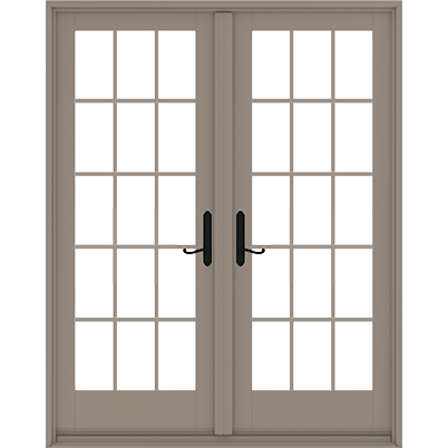 400 Series Frenchwood 174 Hinged Patio Door