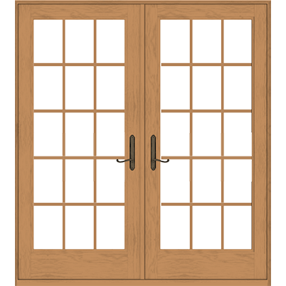 400 Series Frenchwood Hinged Patio Door  sc 1 st  Andersen Windows & French Doors u0026 Hinged Patio Doors | Andersen Windows
