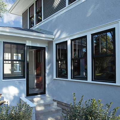 400 Series Woodwright Double-Hung windows