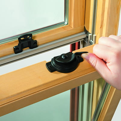 A-Series double-hung window hardware