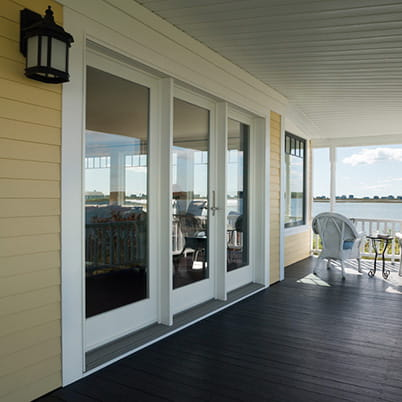 French doors hinged patio doors andersen windows - How wide are exterior french doors ...