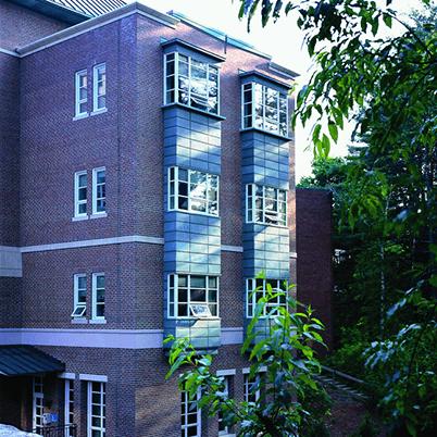 E-Series bay windows exterior