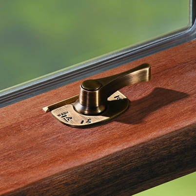E-Series double-hung and bay/bow hardware