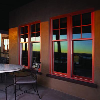 E-Series double-hung windows