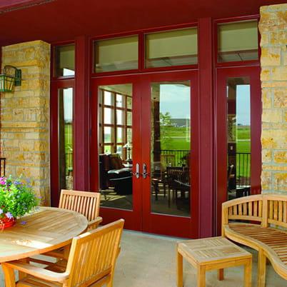 E-Series hinged patio door