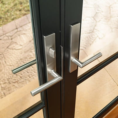 E-Series hinged patio door hardware