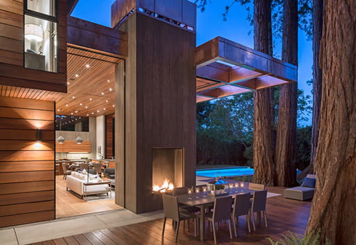Cozy outdoor spaces