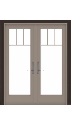 A-Series Hinged French Doors Design